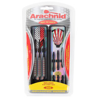 Arachnid SFA300 Striped Soft Tip Darts with Case - 3/Pack