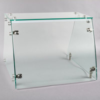 Avantco SNZGD4 Flat Glass Sneeze Guard - 26 inch