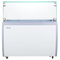 Avantco ADC-8F-HC Flat Glass Ice Cream Dipping Cabinet - 49 inch