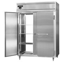 Continental DL2RE-SS-PT 57 inch Extra-Wide Solid Door Pass-Through Refrigerator