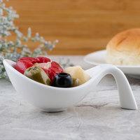 Villeroy & Boch 10-3420-3595 Flow 1 oz. White Premium Porcelain Amuse Bouche - 6/Case