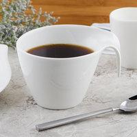 Villeroy & Boch 10-3420-1240 Flow 12.75 oz. White Premium Porcelain Cup - 6/Case