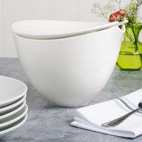 Villeroy & Boch 10-3420-3070 Flow 101.5 oz. White Premium Porcelain Covered Bowl - 6/Case