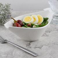 Villeroy & Boch 10-3420-3400 Flow 12.25 oz. White Premium Porcelain Soup Cup - 6/Case