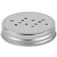 Core 4.75 oz. Mini Mason Jar Salt and Pepper Shaker Lid   - 12/Case
