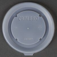 Cambro CLSB9190 Disposable Lid fits Cambro MDSB9110 9 oz. Insulated Bowl for Shoreline Meal Delivery Systems - 1000 / Case