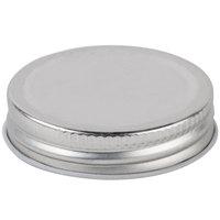 Core 4.75 oz. Mini Mason Jar Solid Lid   - 12/Case