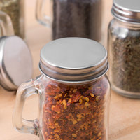 Acopa Mini Mason Jar Solid Lid   - 12/Case