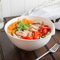 Villeroy & Boch 10-3420-3180 Flow 57.5 oz. White Premium Porcelain Salad Bowl - 6/Case