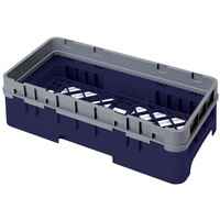 Cambro HBR414186 Navy Blue Camrack Half Size Open Base Rack with 1 Extender