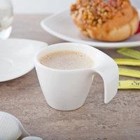 Villeroy & Boch 10-3420-1420 Flow 3.33 oz. White Premium Porcelain Cup - 6/Case