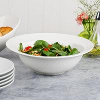 Villeroy & Boch 10-3420-3145 Flow 84.5 oz. White Premium Porcelain Pasta Bowl - 6/Case
