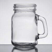 Core 4.75 oz. Mini Mason Jar with Handle - 12/Case
