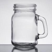 Core by Acopa 4.75 oz. Mini Mason Jar with Handle - 12/Case