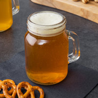 Acopa 4.75 oz. Mini Mason Jar with Handle - 12/Case