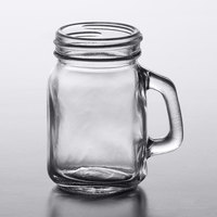 Acopa 4.75 oz. Mini Mason Jar with Handle - 12/Case