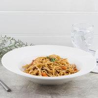 Villeroy & Boch 10-3420-2790 Flow 11 1/2 inch Round White Premium Porcelain Pasta Plate - 4/Case