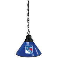 Holland Bar Stool BL1BKNYRang New York Rangers Logo Pendant Light with Black Finish - 120V