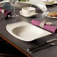 Villeroy & Boch 10-3452-2700 Urban Nature 12 1/4 inch x 7 3/4 inch White Premium Porcelain Rim Soup Bowl - 4/Case