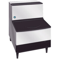 Hoshizaki KM-201BWH 24 inch Water Cooled Undercounter Crescent Cube Ice Machine - 215 lb.