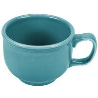 Homer Laughlin 149107 Fiesta Turquoise 18 oz. Jumbo Cup - 12 / Case