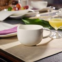 Villeroy & Boch 10-3452-1210 Urban Nature 15 oz. White Premium Porcelain Cup - 4/Case