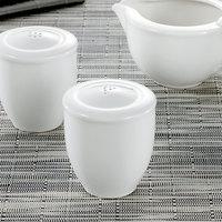 Villeroy & Boch 16-2040-3480 Universal 2 1/4 inch White Premium Porcelain Pepper Shaker - 6/Case