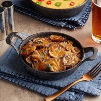 Valor 18 oz. Pre-Seasoned Mini Cast Iron Round Casserole Dish