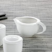 Villeroy & Boch 16-2040-3430 Universal 3.33 oz. White Premium Porcelain Sauce Boat - 6/Case