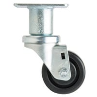 3 inch Adjustable Height Swivel Plate Caster