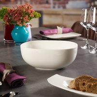 Villeroy & Boch 10-3452-3170 Urban Nature 96 oz. White Premium Porcelain Salad Bowl - 4/Case