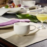 Villeroy & Boch 10-3452-1300 Urban Nature 8 oz. White Premium Porcelain Cup - 4/Case