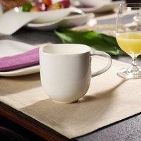 Villeroy & Boch 10-3452-9651 Urban Nature 12.75 oz. White Premium Porcelain Mug - 4/Case