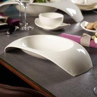 Villeroy & Boch 10-3452-6065 Urban Nature 19.5 oz. White Premium Porcelain Pasta Traverse Bowl - 4/Case