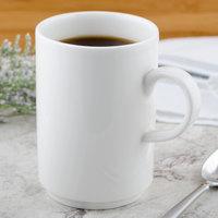 Villeroy & Boch 16-2040-4894 Universal 13.5 oz. White Premium Porcelain Stackable Mug - 6/Case