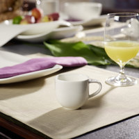 Villeroy & Boch 10-3452-1420 Urban Nature 3 oz. White Premium Porcelain Cup - 4/Case