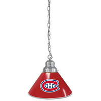 Holland Bar Stool BL1CHMonCan Montreal Canadiens Logo Pendant Light with Chrome Finish - 120V