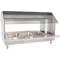 Alto-Shaam HFT2-300 Three Pan Electric Tabletop Hot Food Buffet Table - 230V