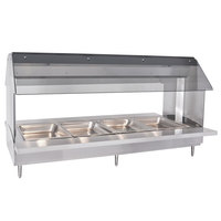 Alto-Shaam HFT2-400 Four Pan Electric Tabletop Hot Food Buffet Table - 230V