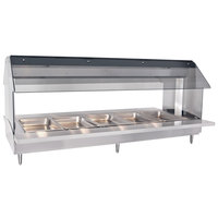 Alto-Shaam HFT2-500 Five Pan Electric Tabletop Hot Food Buffet Table - 208V