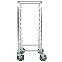 Regency 10 Pan Aluminum Steam Table Pan Rack - Assembled
