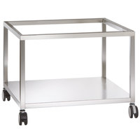 Alto-Shaam 5015711 Combitherm 38 3/4 inch x 38 5/16 inch Mobile Open Front and Back Combi Oven Stand