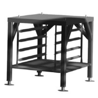 Alto-Shaam 5024349 24 inch High Vector Oven Stand