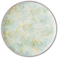 Villeroy & Boch 16-4050-2590 Artesano Meadow 12 1/2 inch River Porcelain Coupe Flat Plate - 4/Case