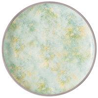 Villeroy & Boch 16-4050-2601 Artesano Meadow 11 1/4 inch River Porcelain Coupe Flat Plate - 6/Case
