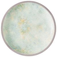 Villeroy & Boch 16-4050-2660 Artesano Meadow 6 1/4 inch River Porcelain Coupe Flat Plate - 6/Case