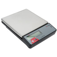 Taylor TE2FT 2 lb. Compact 7 1/8 inch x 7 1/8 inch Digital Portion Control Scale