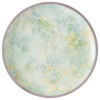 Villeroy & Boch 16-4050-2640 Artesano Meadow 8 1/2 inch River Porcelain Coupe Flat Plate - 6/Case