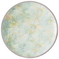 Villeroy & Boch 16-4050-2621 Artesano Meadow 10 1/2 inch River Porcelain Coupe Flat Plate - 6/Case
