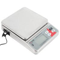 Taylor TE20SSW 20 lb. Waterproof Digital Portion Control Scale